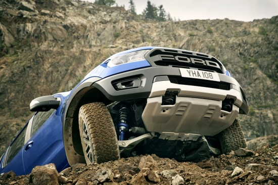 Ford introduced the Ranger Raptor in Europe