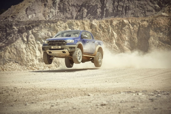 The new Ford Ranger Raptor is the toughest and most powerful version of the best selling pickup truck in Europe