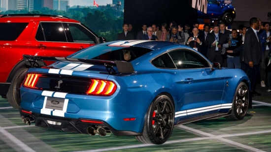 The Ford Mustang Shelby GT500 is a car with over 700 HP.