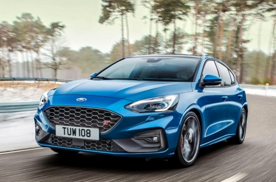 The sportiest Ford Focus ST: the 2.3-litre Ecoboost petrol engine produces 280 HP
